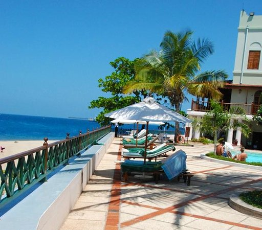 Zanzibar Serena Hotel: Zanzaibar Serena Hotel Decks