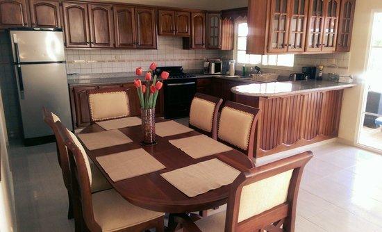 Casa de Paraiso: kitchen