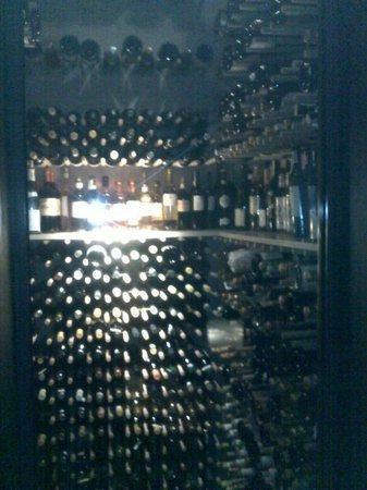 Le Calandre: wine celar