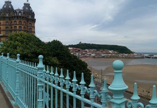 Grand Hotel Scarborough: lovely view