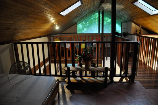 Osa Rainforest Rentals: Upstairs loft