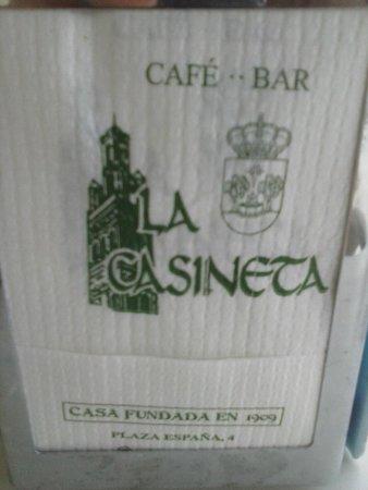Cafe Bar la Casineta: La Casineta