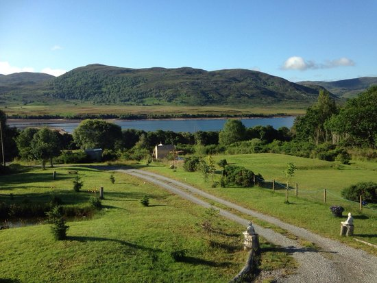 Tigh na Coin Beagan: View from our room!