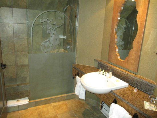 Banff Caribou Lodge & Spa: Bathroom