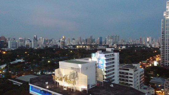 Dusit Thani Bangkok: view from room