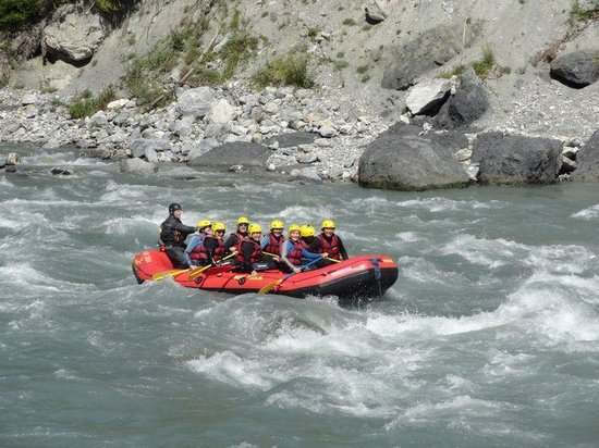 Ilanz, Switzerland: Rafting Ruinaulta