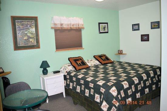 Alaska Riverview Lodge: Augustine Room