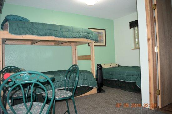Alaska Riverview Lodge: Redoubt Room