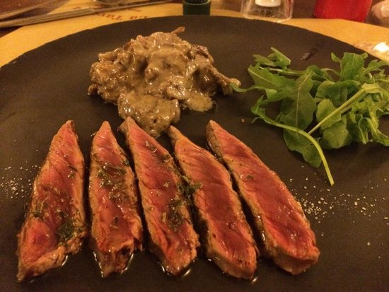 La Taverna di San Giuseppe: Tagliata e cinghiale