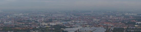 Olympic Tower: panorama from the top