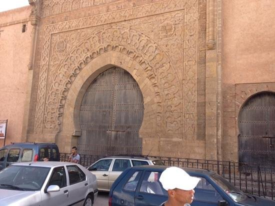 Kasbah des Oudaias : one beatiful old gate