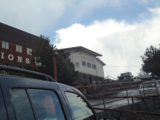 Monte Etna: estação da Funivia
