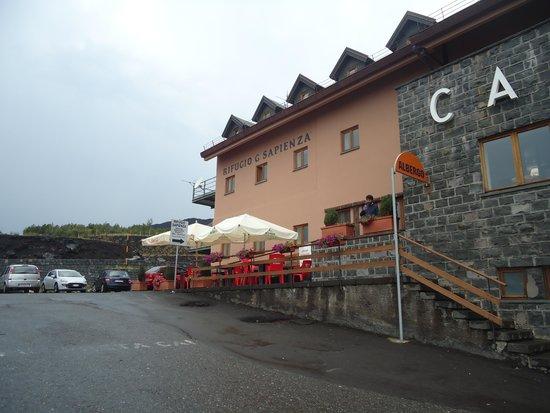 Monte Etna: refúgio à 1800 m