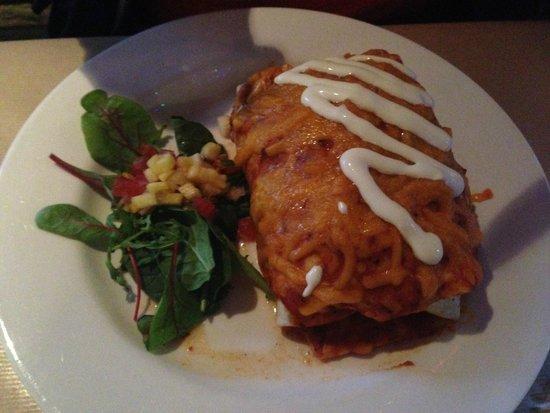 The Hungry Mexican: Chimichanga!
