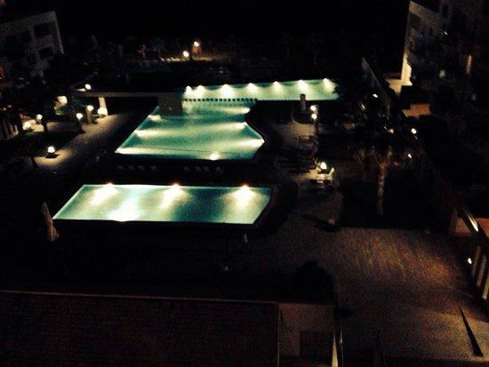 Capital Coast Resort & Spa: View at night