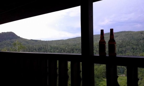 Eagle Ridge at Lutsen Mountain : Balcony View from building A