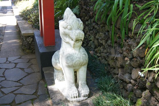 Monte Palace Tropical Garden: Standing guard
