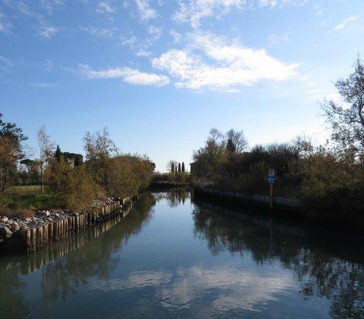 Isla de Torcello: rio dentro da ilha