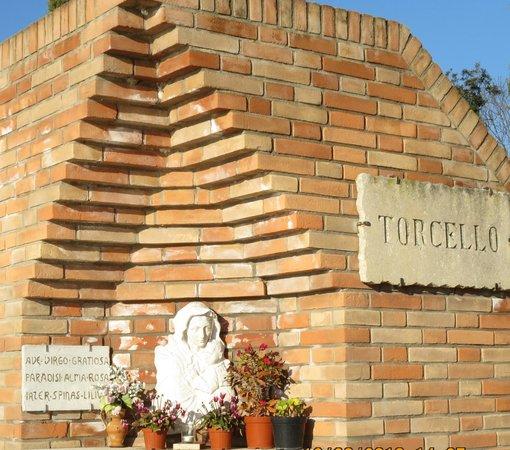Isla de Torcello: entrada da ilha
