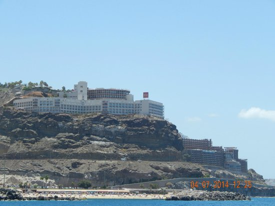 ClubHotel Riu Vistamar: hotel from sea taxi