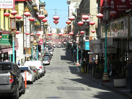 Chinatown: La grant ave. del barrio chino de San Francisco