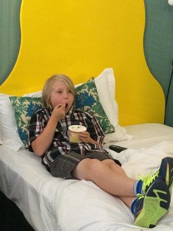Hotel Triton : living the life!