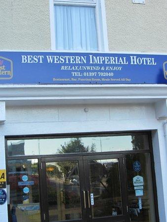 BEST WESTERN Imperial Hotel: Entrada