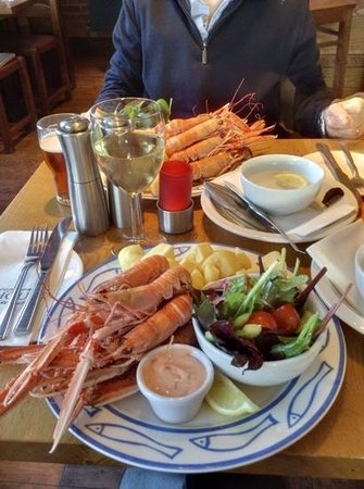 The Waterfront Fishouse Restaurant: aragostelle