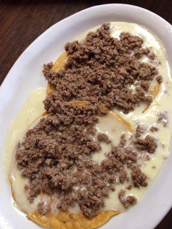 La Carreta Mexican Restaurant: The Chile con carne. It was delicious and only $5!