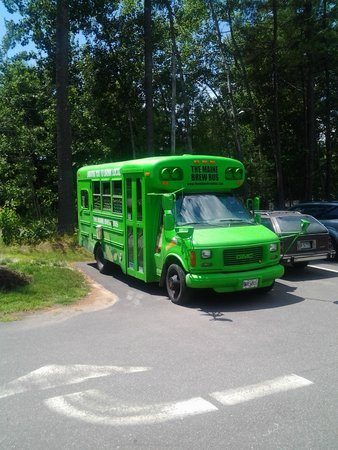 The Maine Brew Bus: the bus