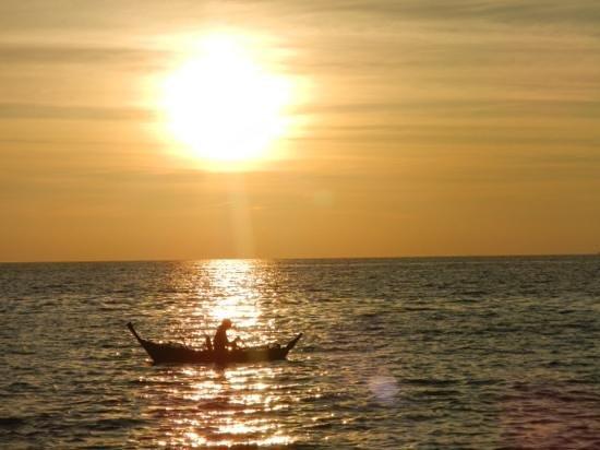 Lanta Miami Bungalows : Solnedgång