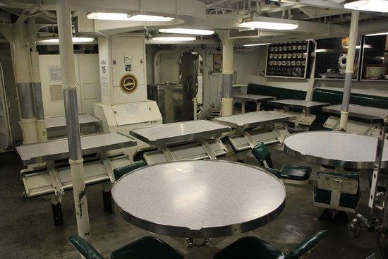 Buffalo & Erie County Naval and Military Park: Inside a submarine
