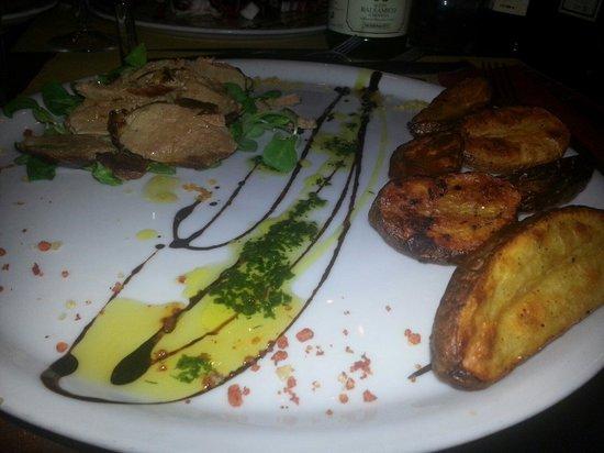 La Taverna di Emma: Tagliata di anatra con patate al forno