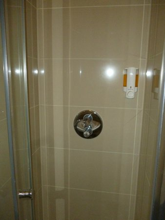Queens Hotel: Shower