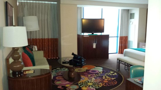 Rio All-Suite Hotel & Casino: view from entry way