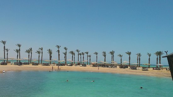 Festival Shedwan Golden Beach Resort: пляж отеля