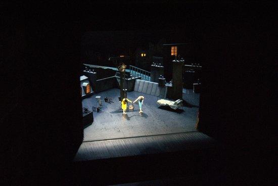 Scala de Milan (Teatro alla Scala) : coreografia d'apertura