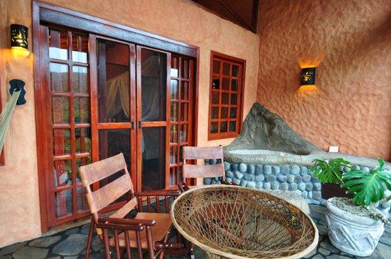 Peace Lodge: Deluxe Villa Balcony