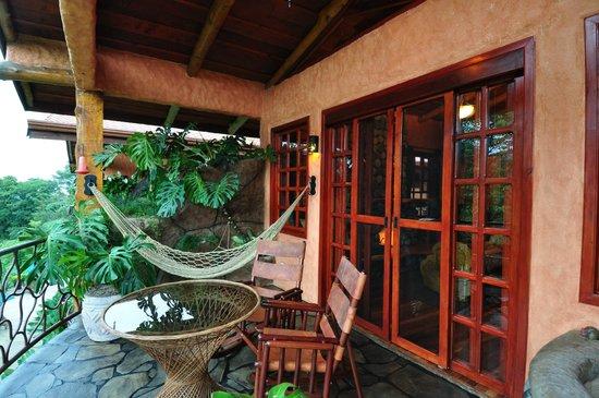 Peace Lodge: Balcony