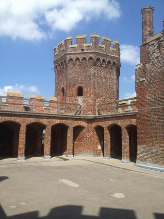 Tattershall Castle : Top tower