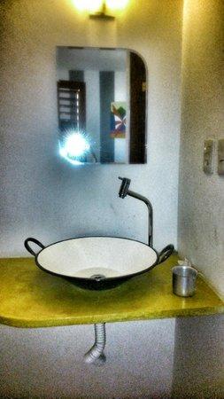 Pousada Bella Jeri: detalhe do lavabo