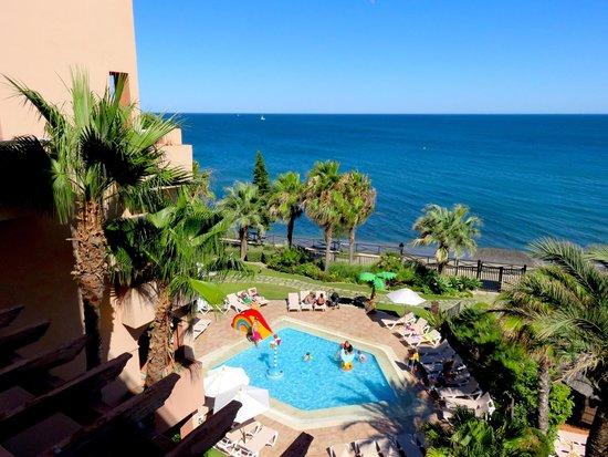 Gran Hotel Elba Estepona & Thalasso Spa: Vue de la chambre