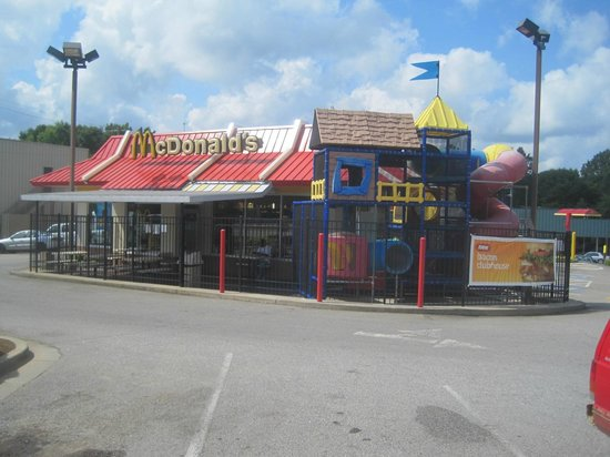 McDonald's of Washington, Washington, GA, July 2014