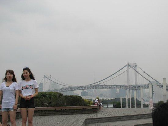 Hilton Tokyo Odaiba: front of hotel