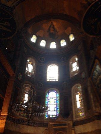 Hagia Sophia Museum / Church (Ayasofya): Айя Софья! Мозаика