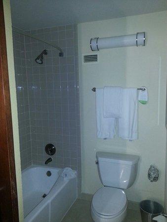 Courtyard Boston Logan Airport: King room bathroom