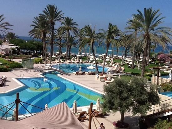 Constantinou Bros Asimina Suites Hotel : View from Suite 206