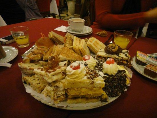esse foi o prato servido em Las Violetas.