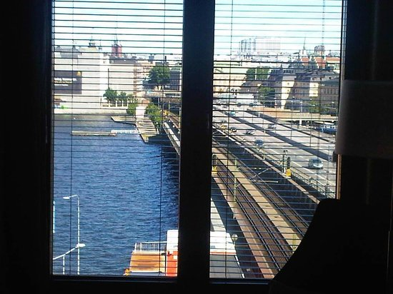 Hilton Stockholm Slussen: View from my room