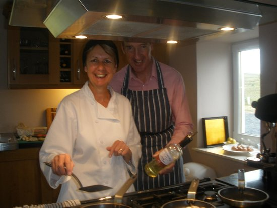 "Kentraw Farmhouse: the wonderful chefs - watch out for the ""oil""!!"